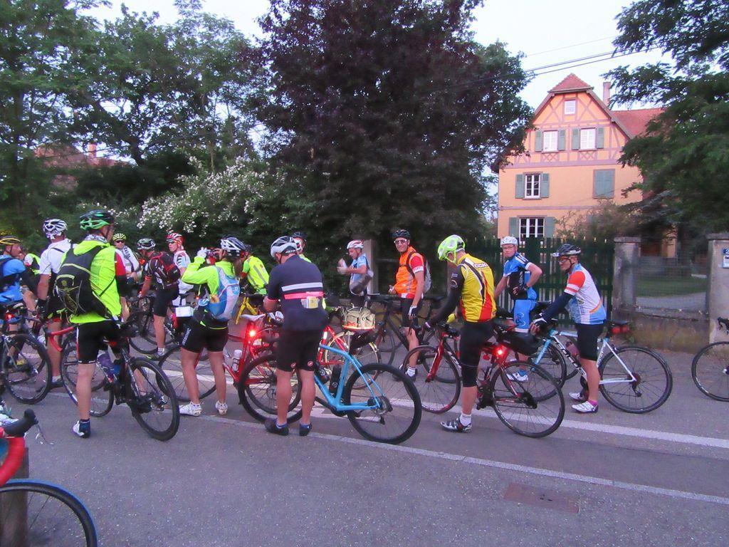 BRM 300 km de Kingersheim : le Doubs pour changer du Doux !