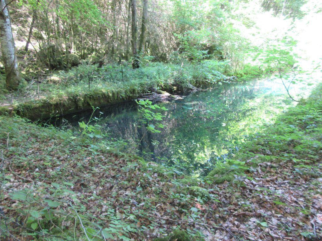 bassin d'alimentation en eau du village