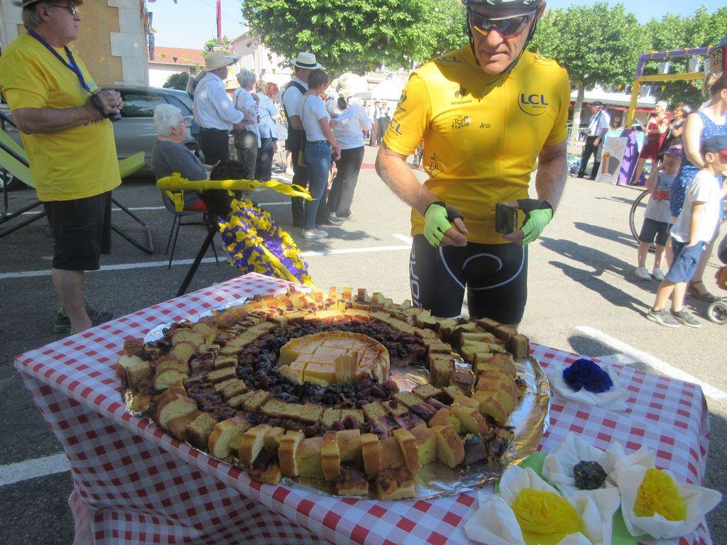 un cyclo gourmand ;-)  à Anneyron