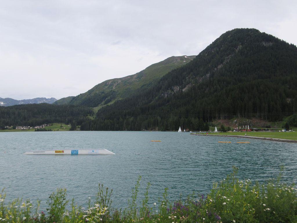 Wolfgang pass et lac de Davos