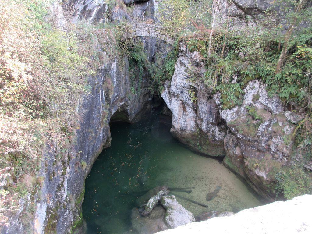 Le Guiers Vif (sortie des Gorges de l'Echaillon, une très belle randonnée aquatique à faire par temps de canicule )