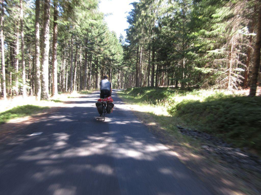 Cyclocamping Auvergne 6/6 : La Margeride