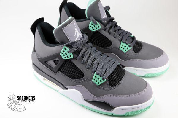 Nike Air Jordan IV Rétro 2013 Green Glow