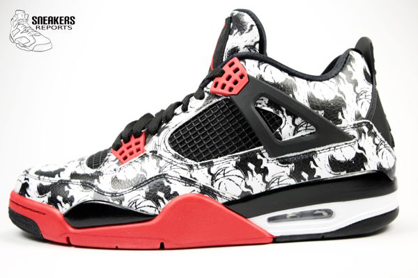 Nike Air Jordan IV TATTOO