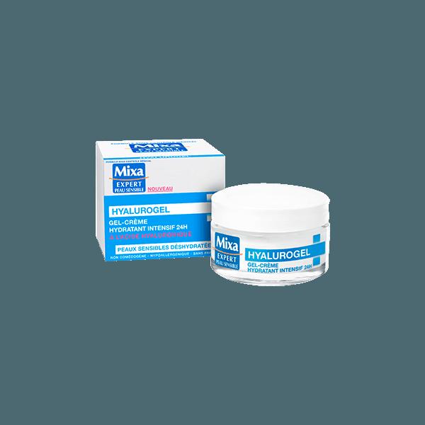 teste de Hyalurogel Crème Riche de Mixa