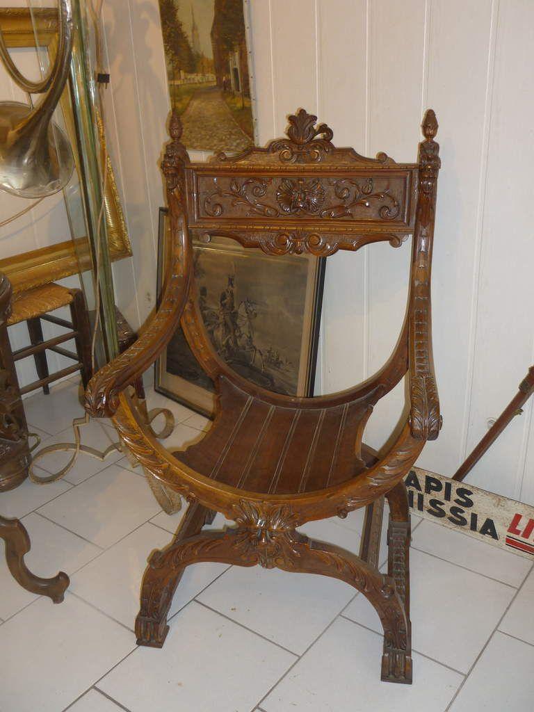 fauteuil Dagobert ancien à vendre