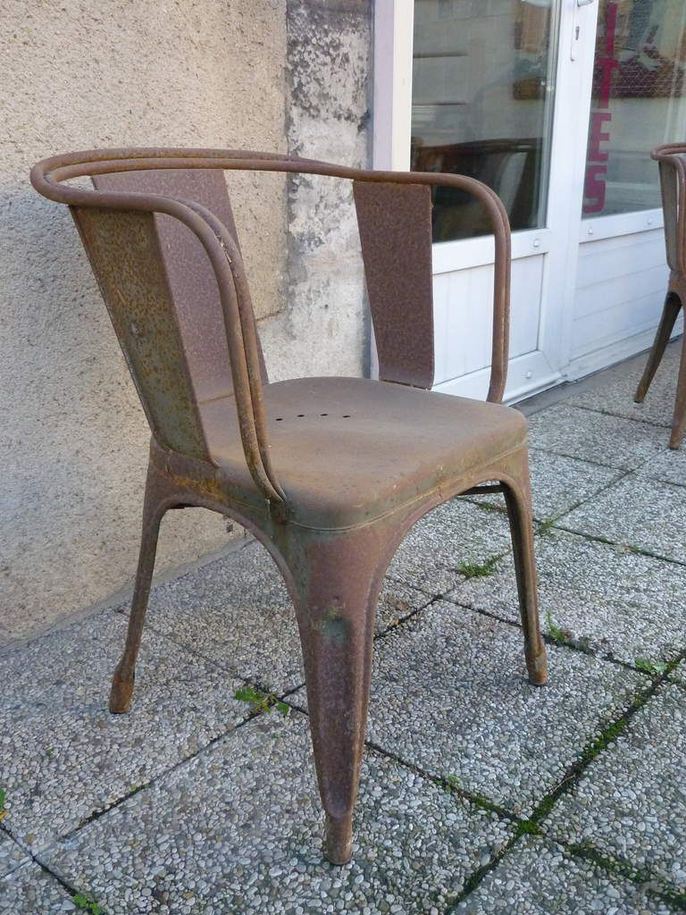TOLIX Xavier Pauchard Design tole galvanisée