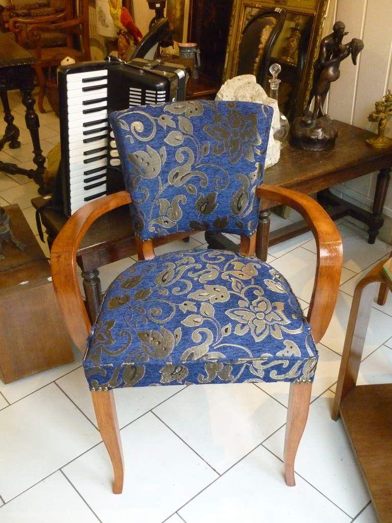 fauteuil, chaises art déco, vintage