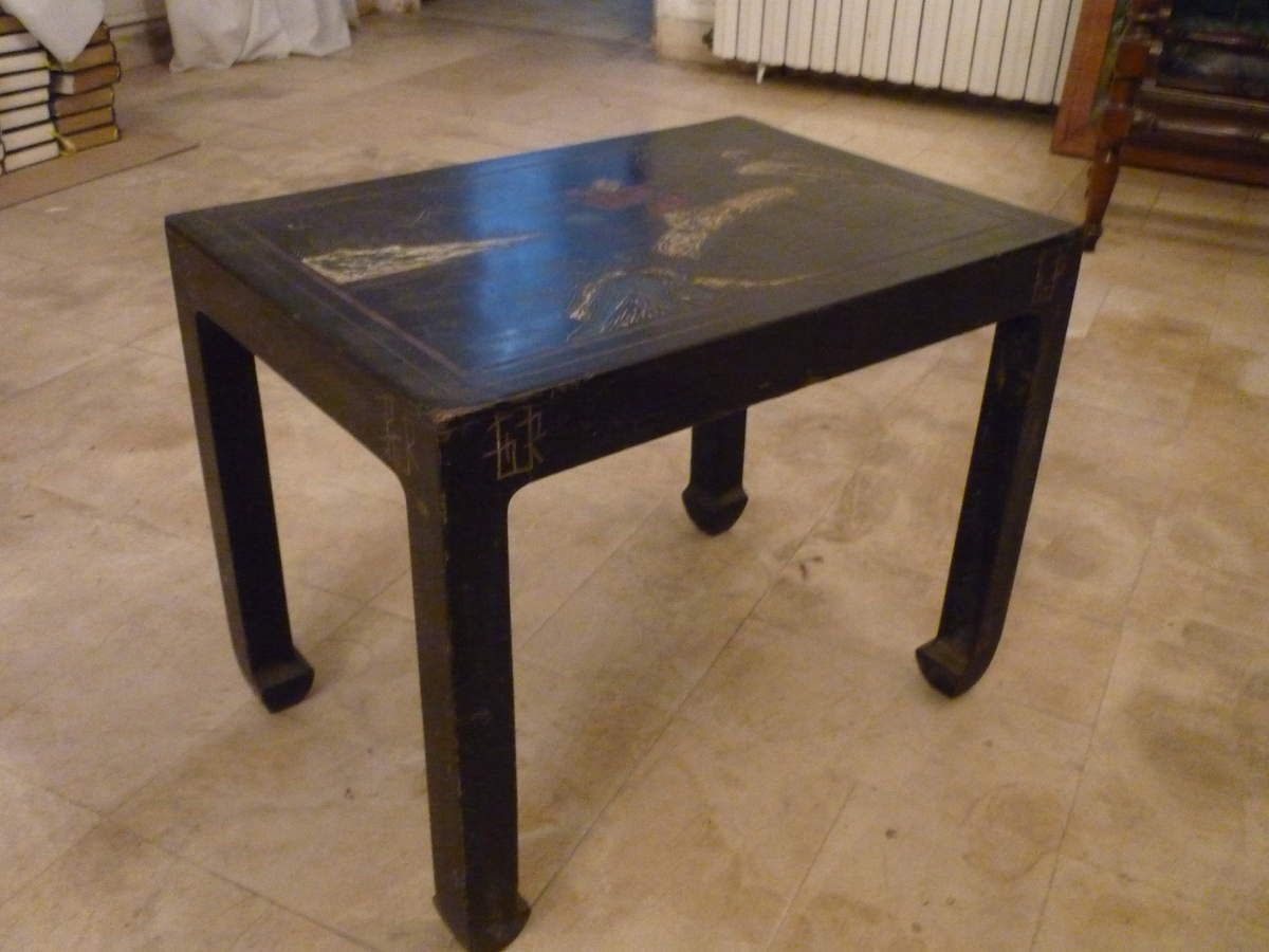 table laque de chine