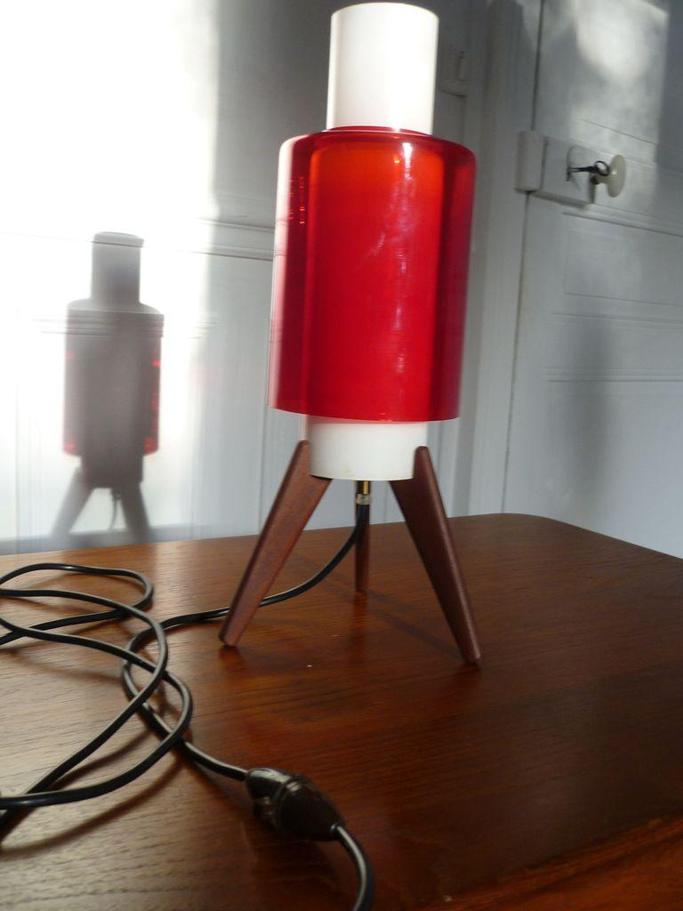 Lampe Vintage ROCKET lampe SPOOTNIK