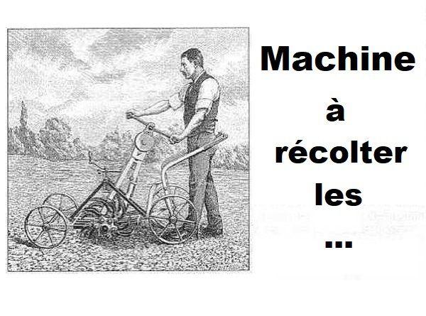 Une étrange machine...