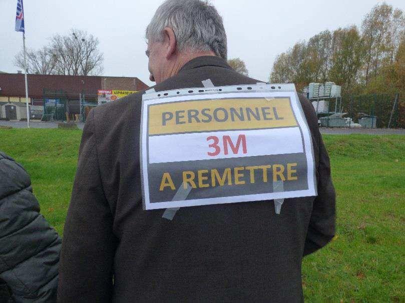 Nivelles : image de la mobilisation 15/11