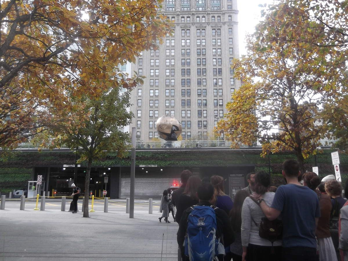 A feignasse trip in New York for kissing tonton SAM (Part one)