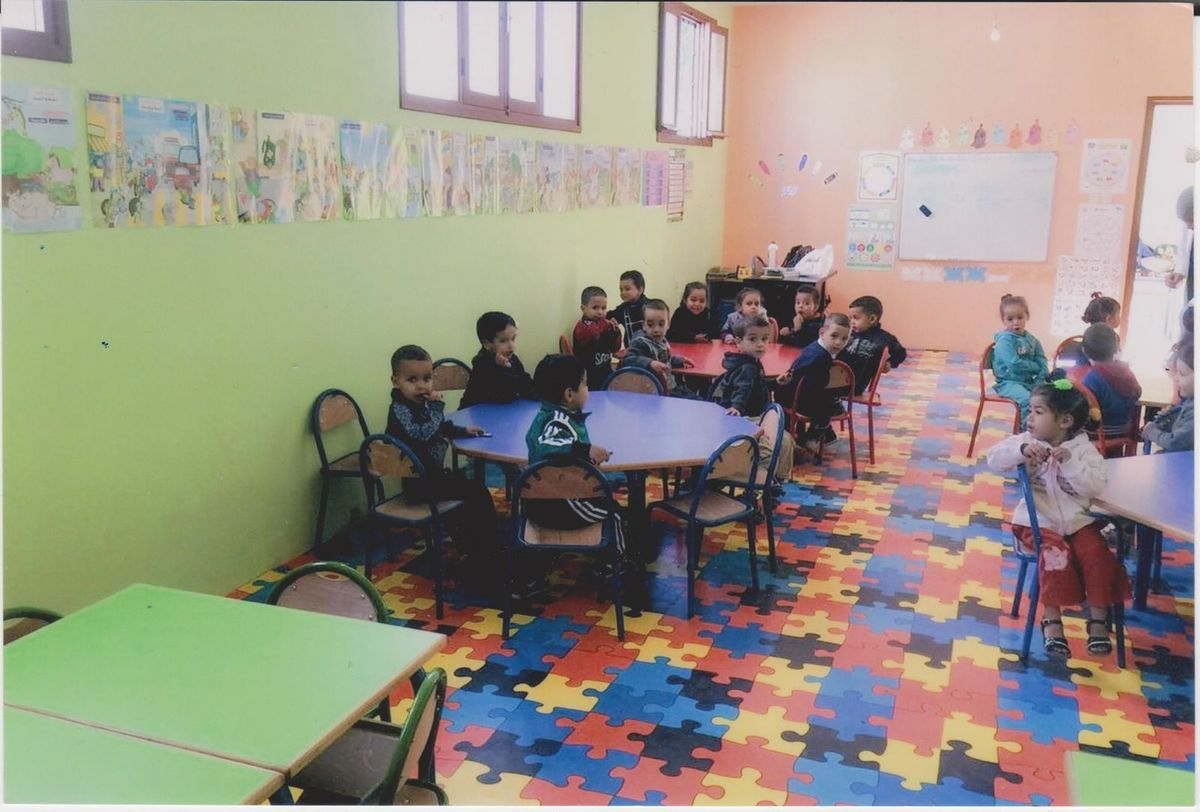Création de la  Crèche Marie AUGUET au Douar ILLALA OULED TEÏMA