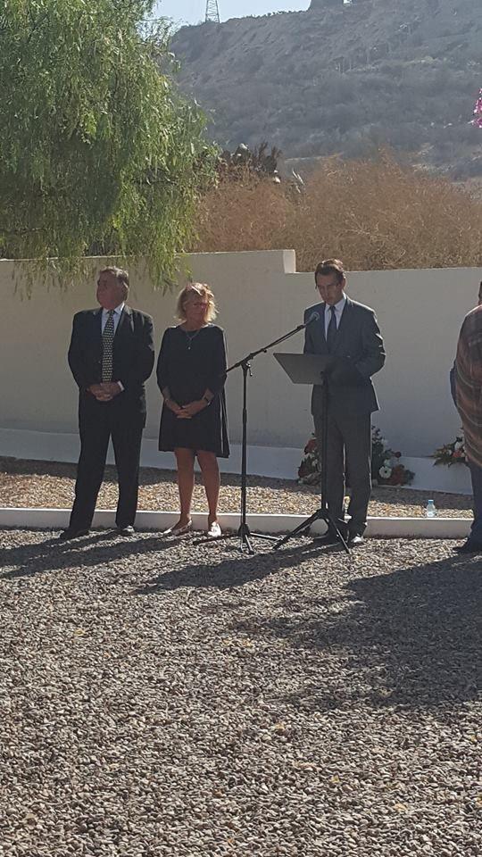 Cérémonie du 11 novembre à Agadir au carré militaire du cimetière de Yachech