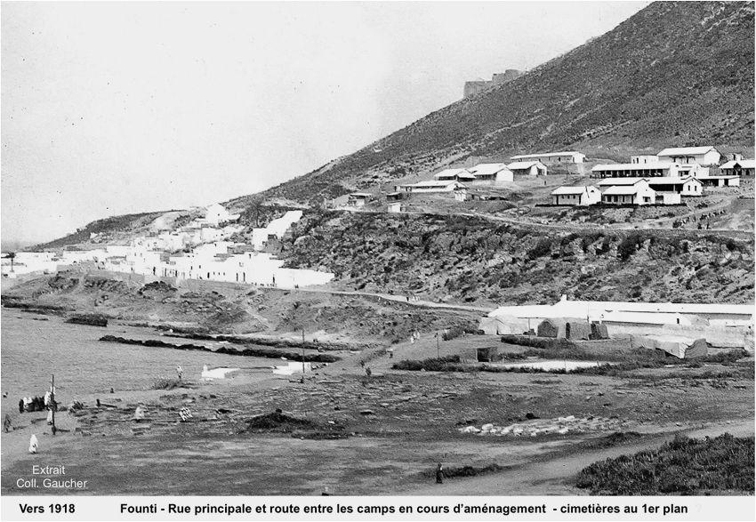 Emplacement de l'ancien cimetière juif à Agadir. / Ph. DR
