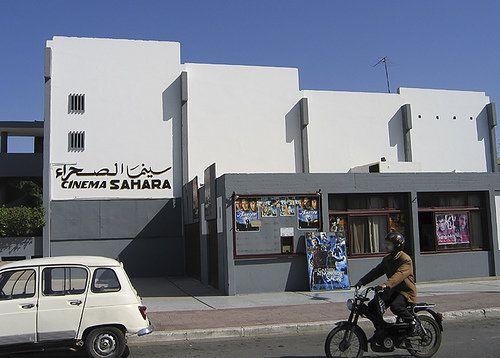 Le Cinéma Sahara menacé de démolition