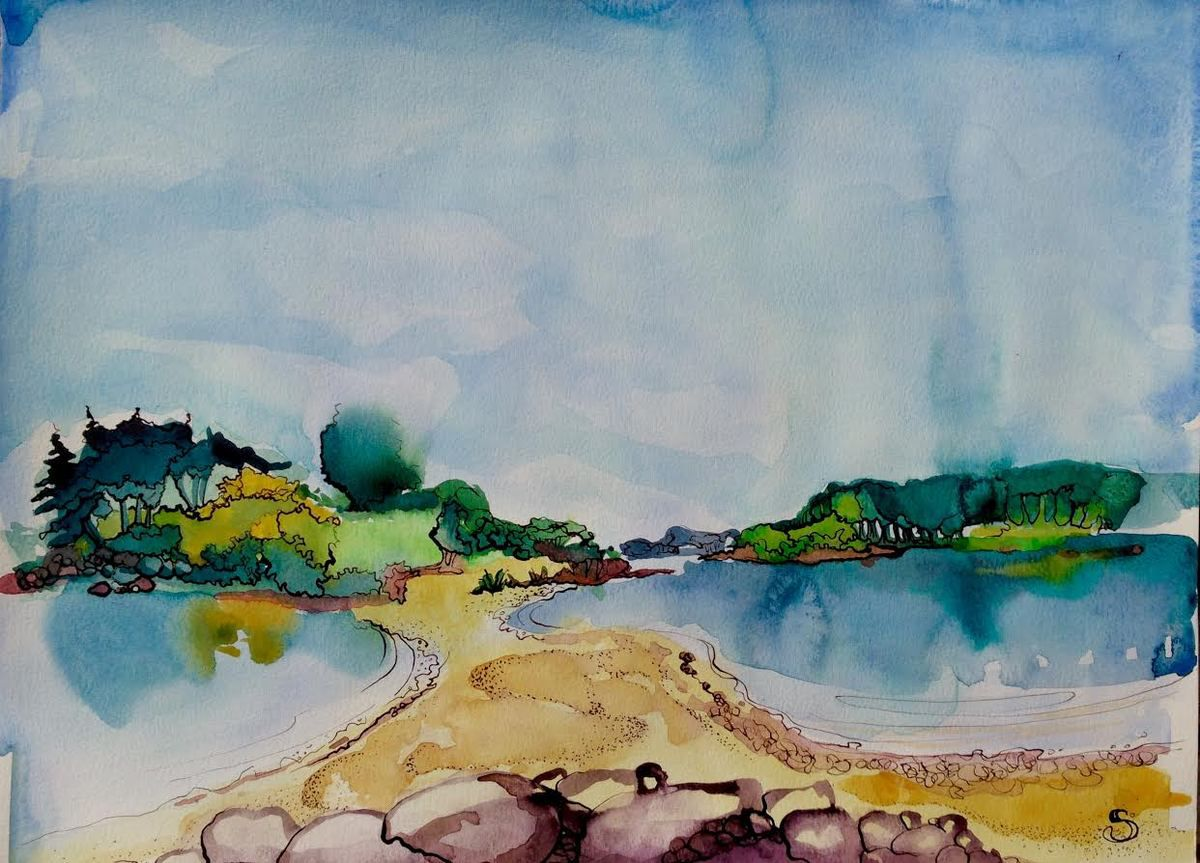 Les Sept Iles, Bretagne sud