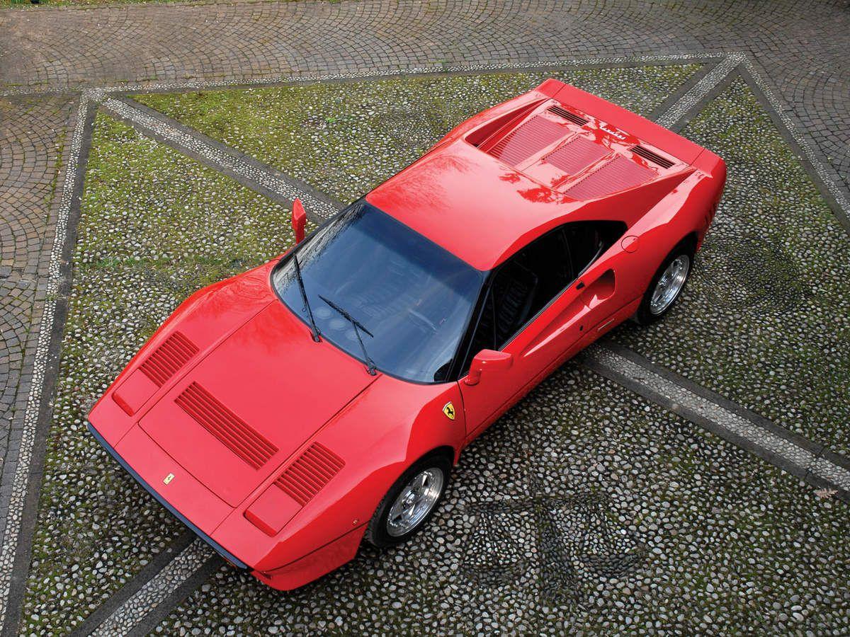 VOITURES DE LEGENDE (1126) : FERRARI  288 GTO - 1985