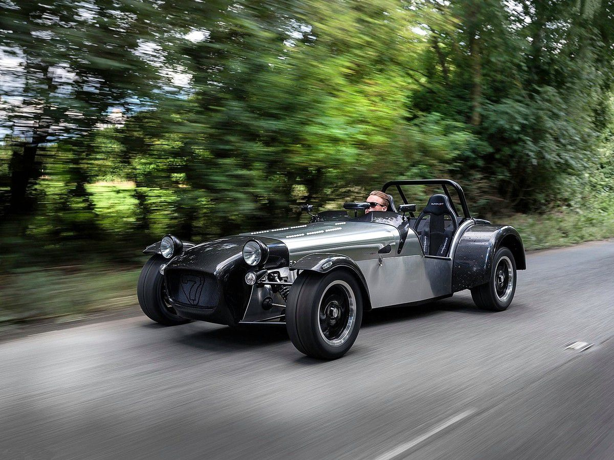 "VOITURES DE LEGENDE (677) : CATERHAM ""SUPERLIGHT"" TWENTY - 2016"