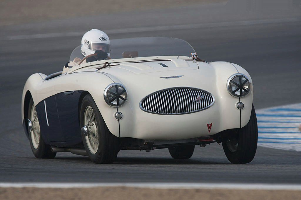 VOITURES DE LEGENDE (684) : AUSTIN HEALEY  100S - 1955