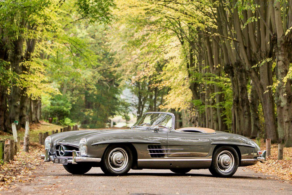 voitures de legende 687 mercedes benz 300 sl roadster. Black Bedroom Furniture Sets. Home Design Ideas