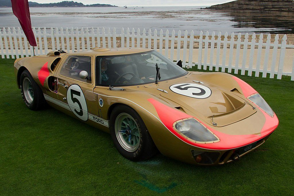 VOITURES DE LEGENDE (695) : FORD  GT40  MkII - 1966