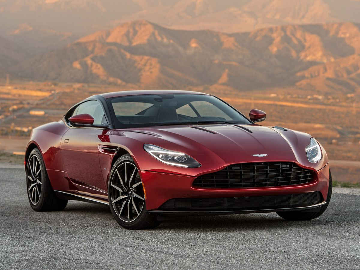 VOITURES DE LEGENDE (730) : ASTON MARTIN DB11 USA - 2016