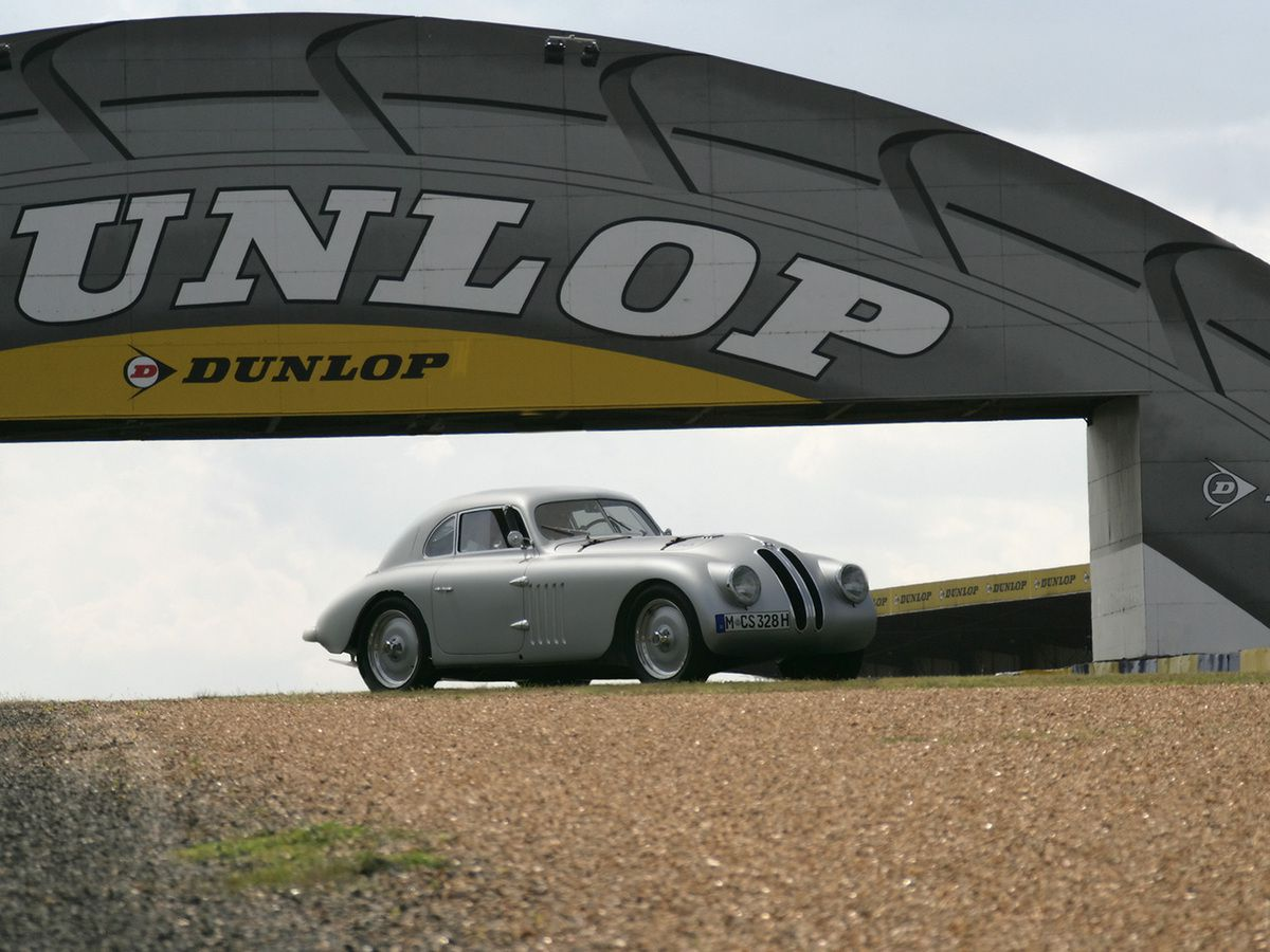"""VOITURES DE LEGENDE (732) : BMW  328 """"MILLE MIGLIA""""  TOURING BERLINETTA - 1940"""