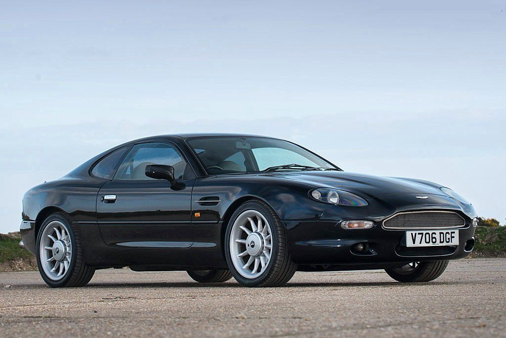 "VOITURES DE LEGENDE (741) : ASTON MARTIN  DB7  ""STRATSTONE"" COUPE - 1999"