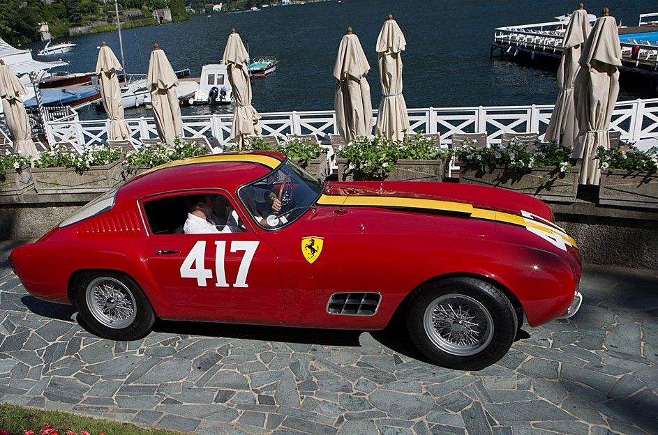 "VOITURES DE LEGENDE (752) : FERRARI  250 GT ""TOUR DE FRANCE"" ""14 LOUVER"" SCAGLIETTI BERLINETTA - 1957"