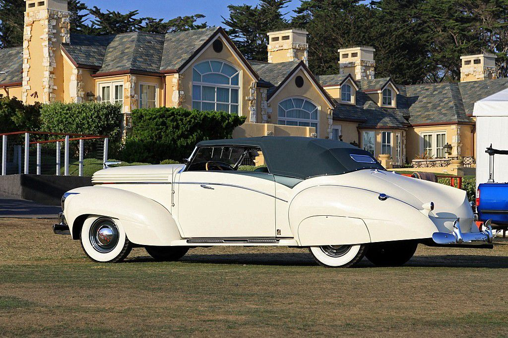VOITURES DE LEGENDE (991) : GRAHAM-PAIGE  MODEL 97  SAOUTCHIK CABRIOLET - 1938