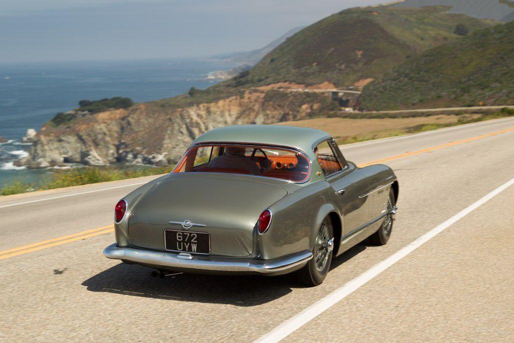VOITURES DE LEGENDE (764) : JAGUAR  XK120 SE PININ FARINA COUPE - 1954