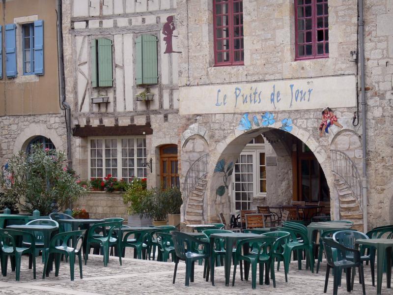 LES PLUS BEAUX VILLAGES DE FRANCE : LAUZERTYE  (TARN ET GARONNE)