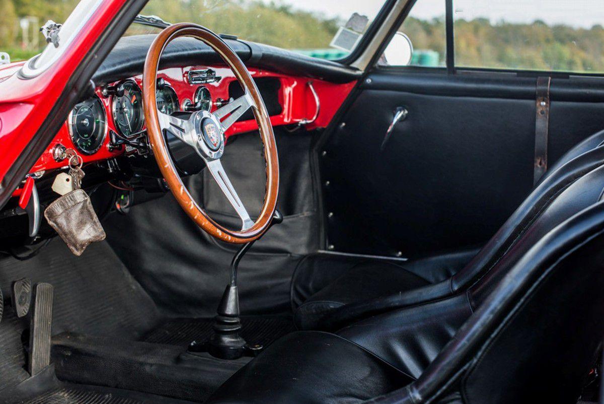 VOITURES DE LEGENDE (780) : PORSCHE  356  CARRERA 2   GT 2000 - 1962