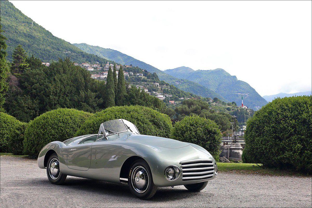 VOITURES DE LEGENDE (783) :FIAT  1100  FRUA CABRIOLET - 1946