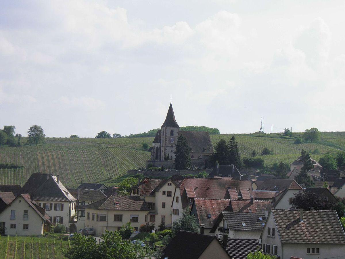 LES PLUS BEAUX VILLAGES DE FRANCE : HUNAWIHR  (HAUT-RHIN)