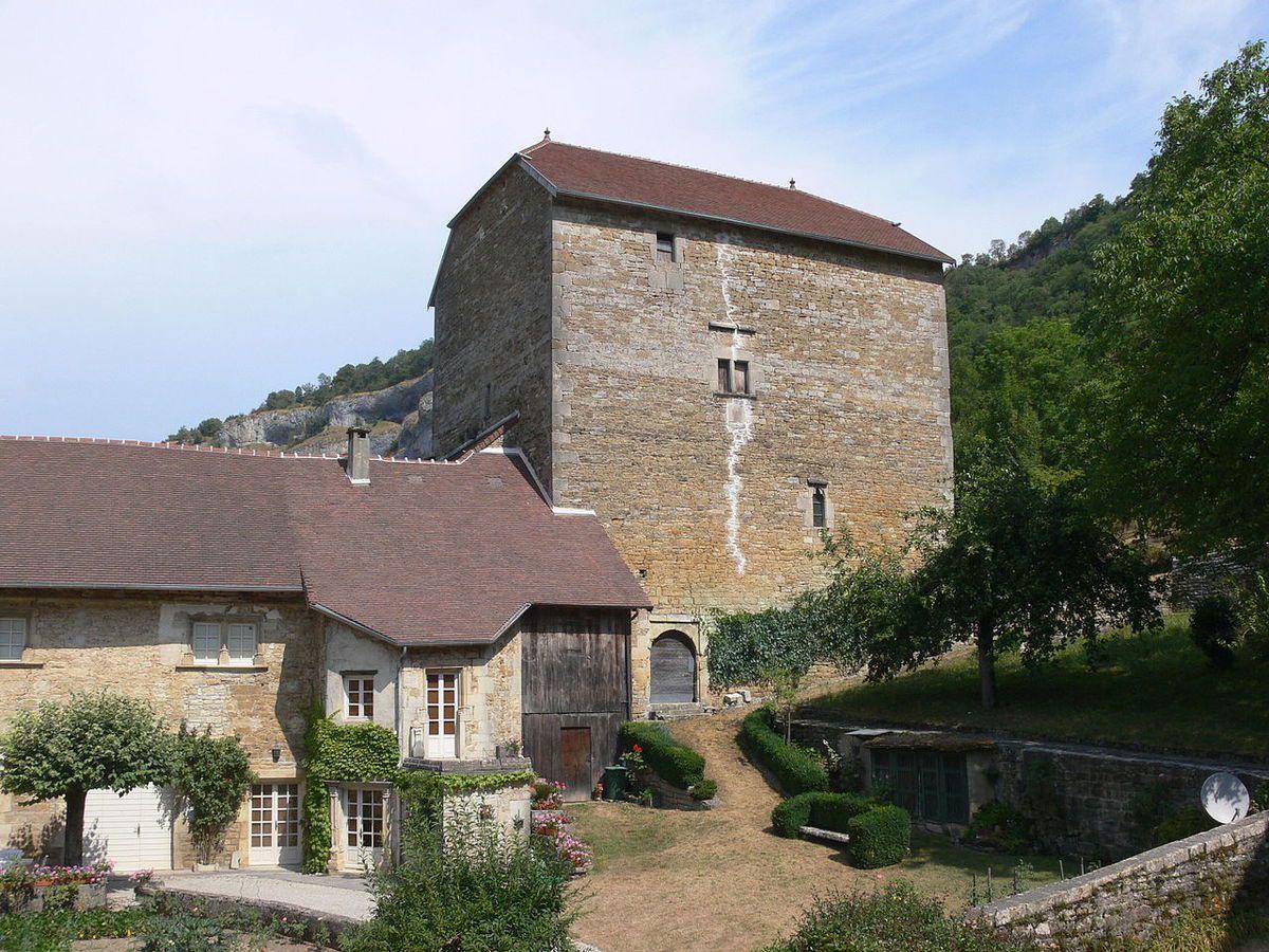 LES PLUS BEAUX VILLAGES DE FRANCE : BAUME-LES-MESSIEURS (JURA)