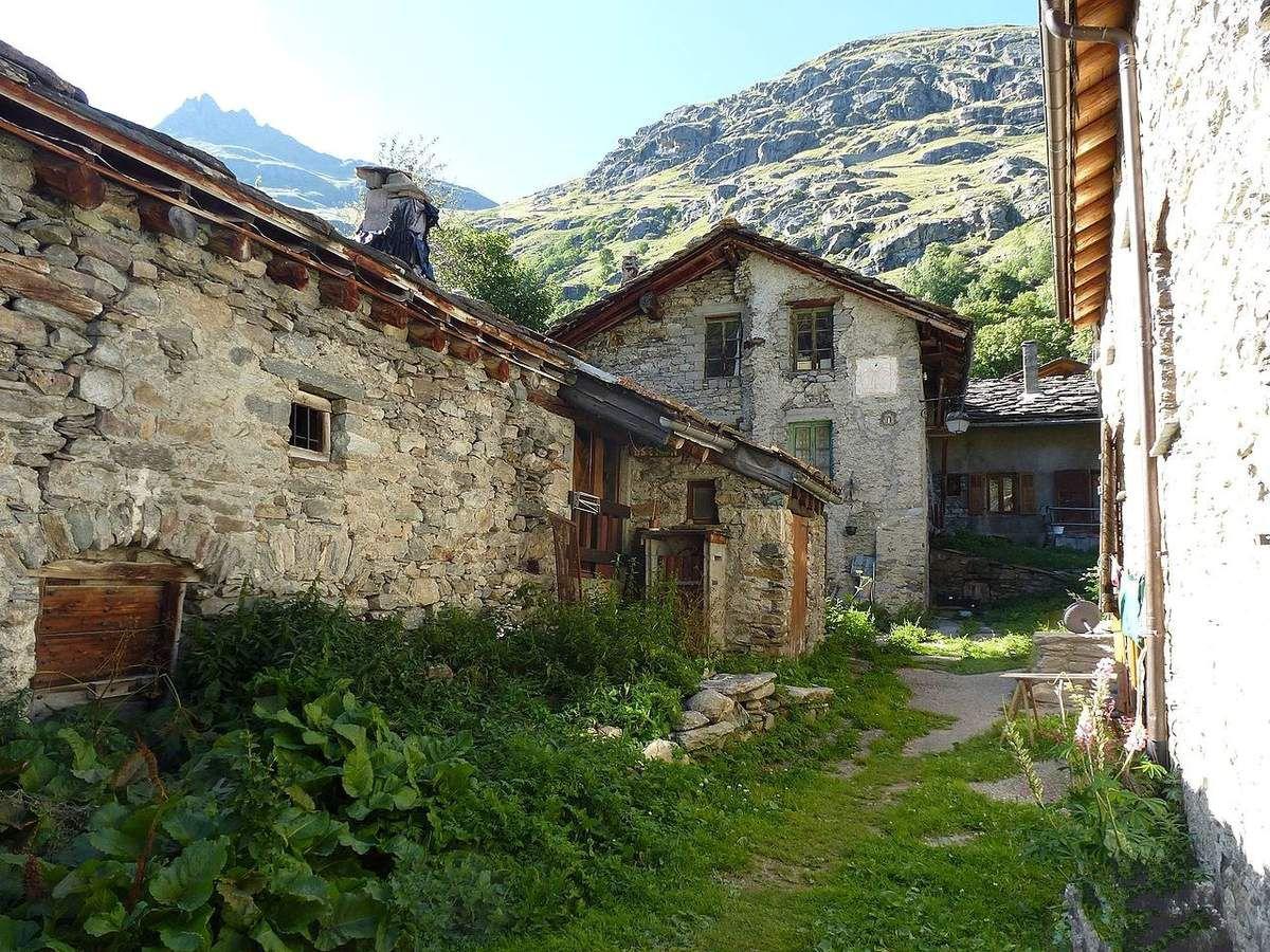 LES PLUS BEAUX VILLAGES DE FRANCE : BONNEVAL-SUR-ARC  (SAVOIE)