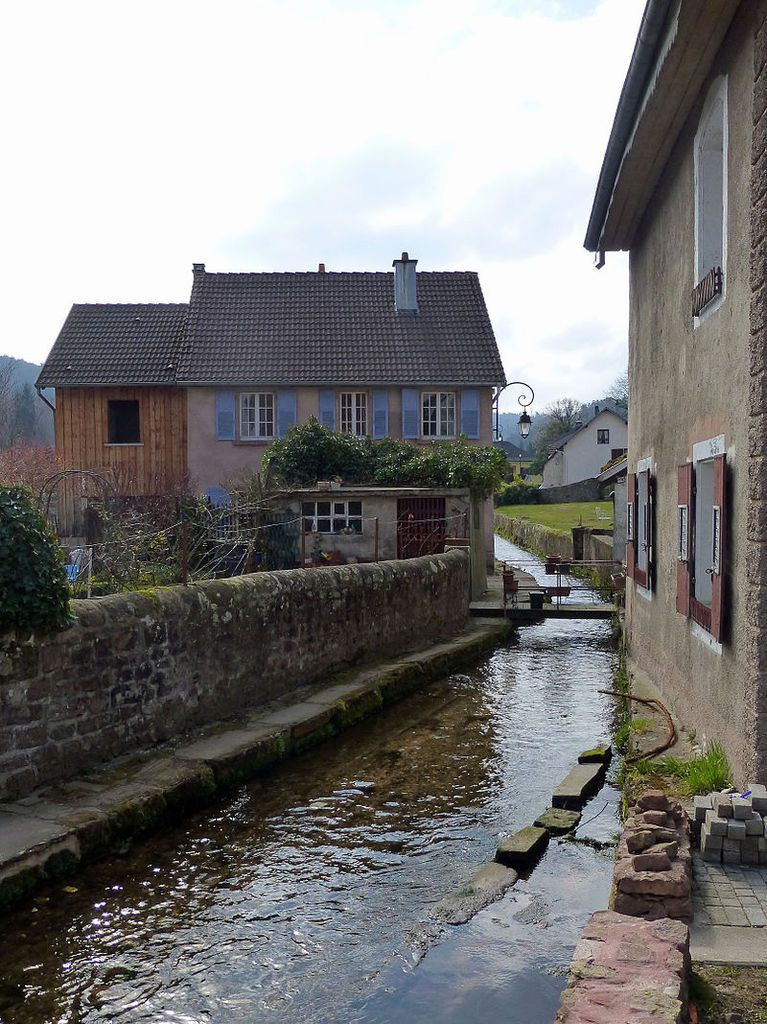 LES PLUS BEAUX VILLAGES DE FRANCE : SAINT-QUIRIN  (MOSELLE)