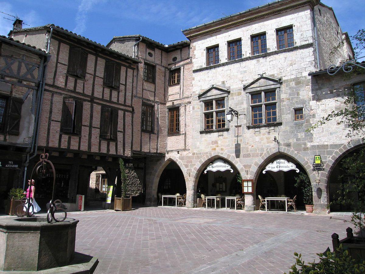 LES PLUS BEAUX VILLAGES DE FRANCE : CASTELNAU-DE-MONTMIRAIL  (TARN)