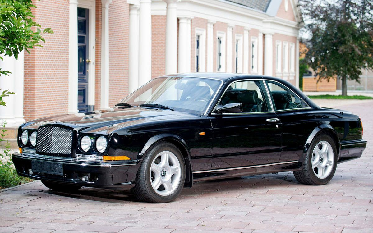VOITURES DE LEGENDE (808) : BENTLEY  CONTINENTAL  T - 1996