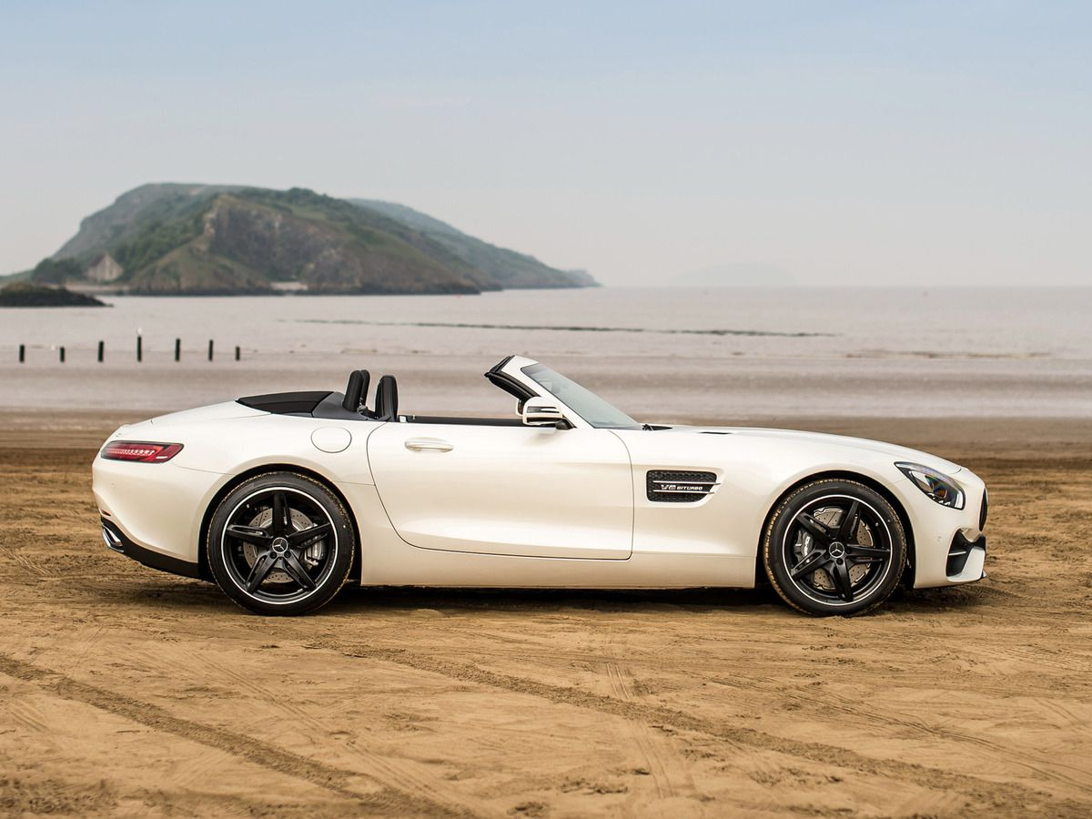 "VOITURES DE LEGENDE (815) : MERCEDES AMG GT ""C""  ROADSTER  VERSION UK - 2017"