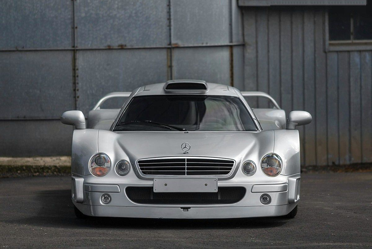 VOITURE DE LEGENDE (828) : MERCEDES-BENZ  CLK  GTR COUPE - 1998