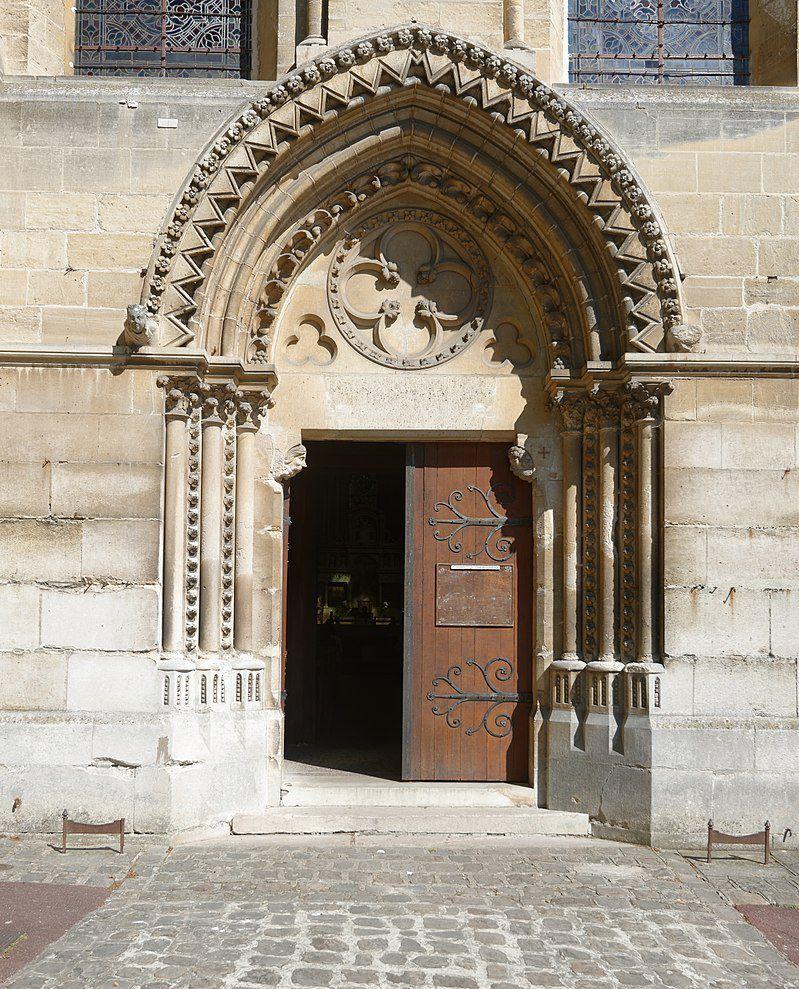 TRESORS DU PATRIMOINE FRANCAIS : TAVERNY (VAL D'OISE) - EGLISE NOTRE-DAME DE L'ASSOMPTION