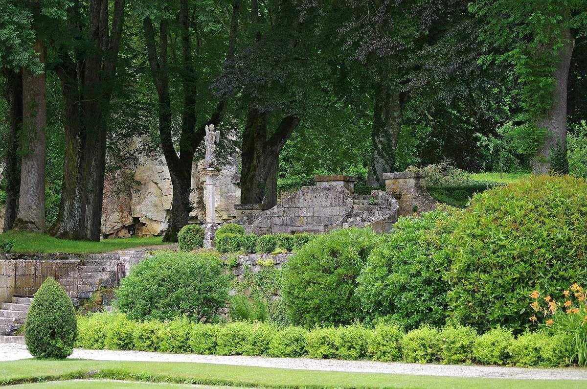 TRESORS DU PATRIMOINE FRANCAIS : ABBAYE CISTERCIENNE DE FONTENAY  (COTE d'OR)