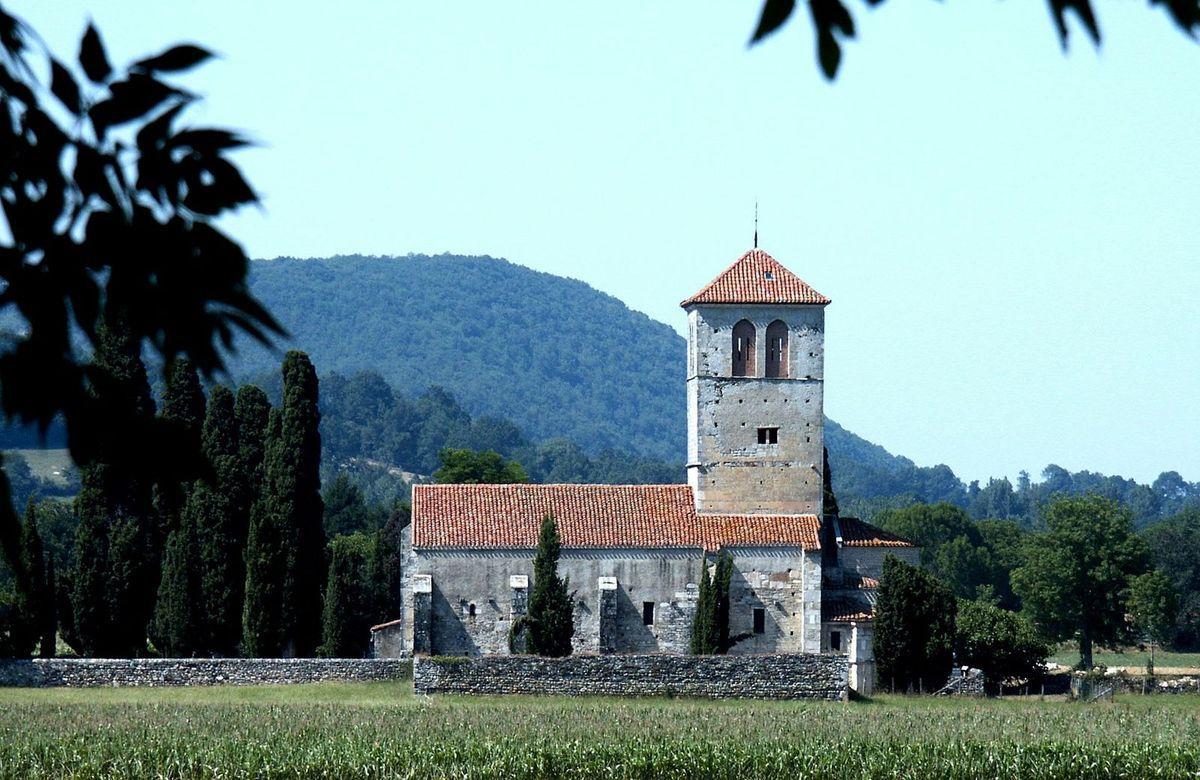 TRESORS DU PATRIMOINE FRANCAIS : VALCABRERE  (HAUTE-GARONNE) - BASILIQUE SAINT-JUST
