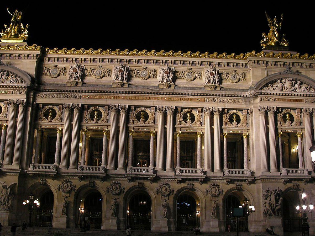 TRESORS DU PATRIMOINE FRANCAIS : PARIS - L'OPERA GARNIER