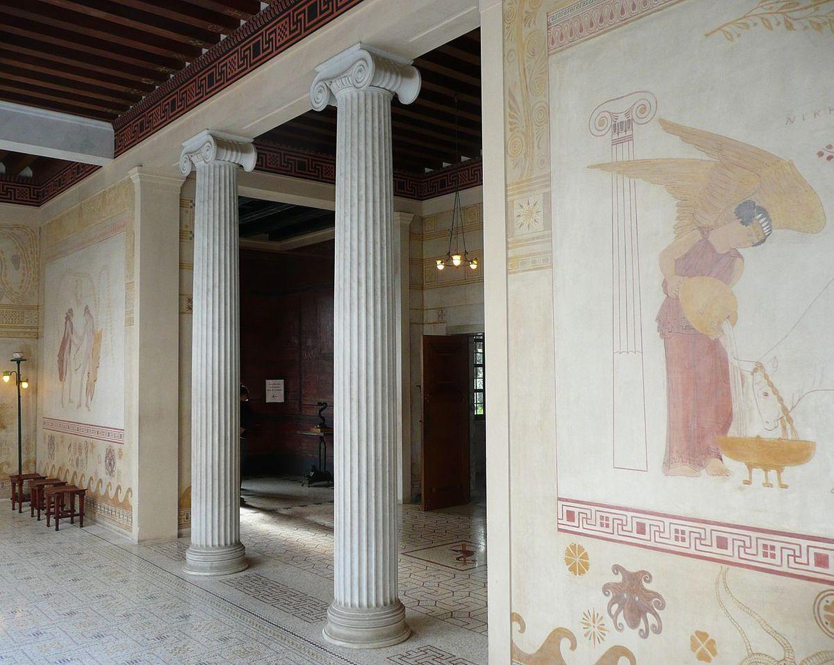TRESORS DU PATRIMOINE FRANCAIS : BEAULIEU-SUR-MER ( ALPES-MARITIMES) - LA VILLA KERYLOS