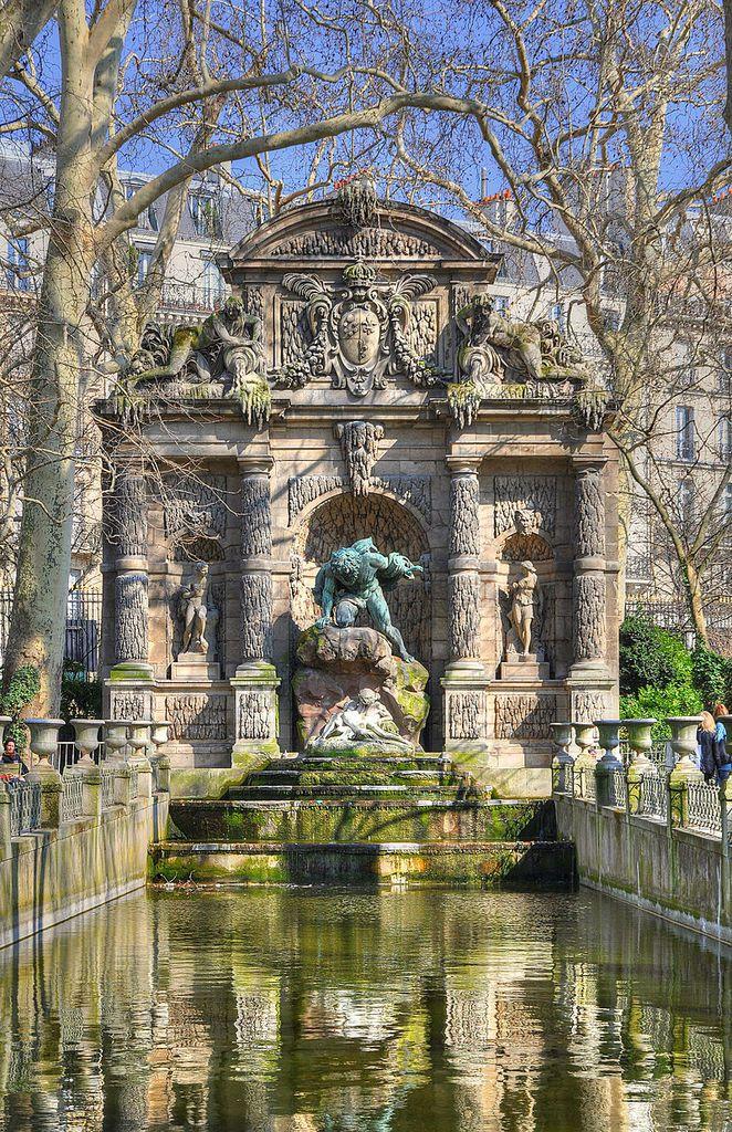 TRESORS DU PATRIMOINE FRANCAIS : PARIS - JARDINS DU LUXEMBOURG